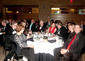 Supporters enjoy the Million Dollar Dinner.  A first class event!